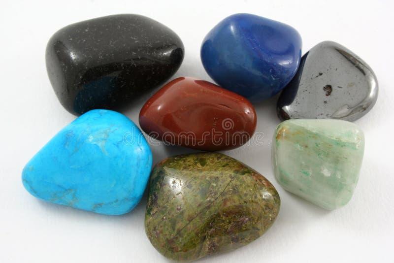 Pedras semipreciosas foto de stock royalty free