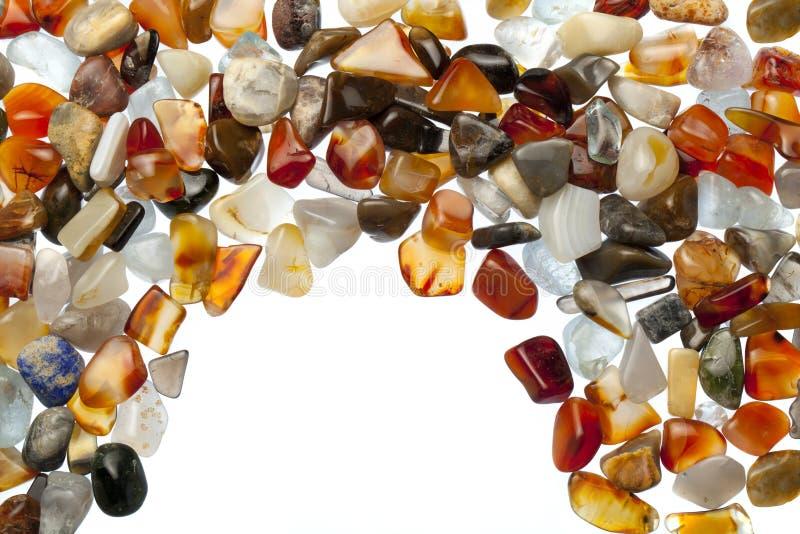 Pedras semipreciosas imagem de stock