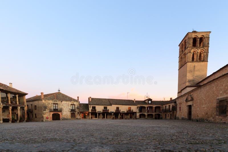 Pedraza, Segovia, España imagen de archivo