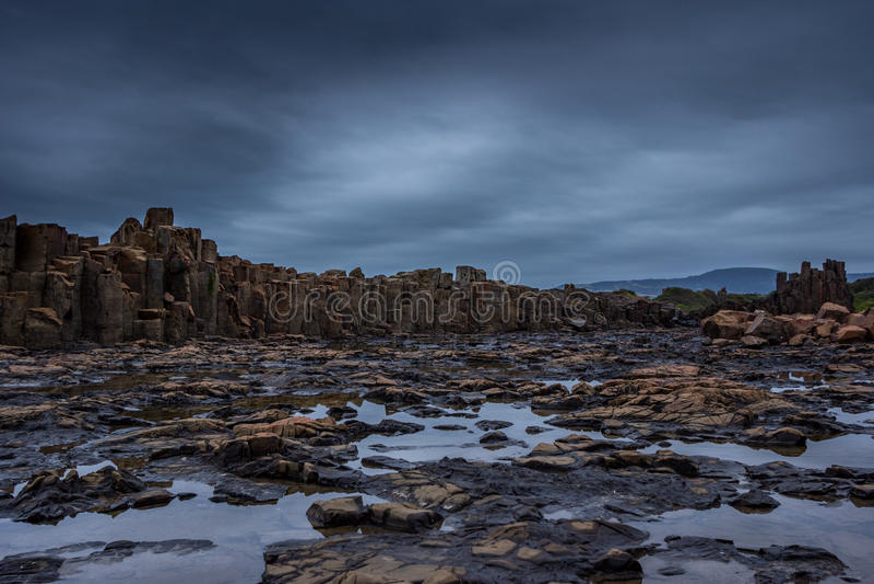 Pedreira abandonada Austrália foto de stock royalty free