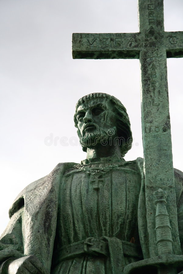 Download Pedro Alvares Cabral Statue Stock Image - Image: 2371961