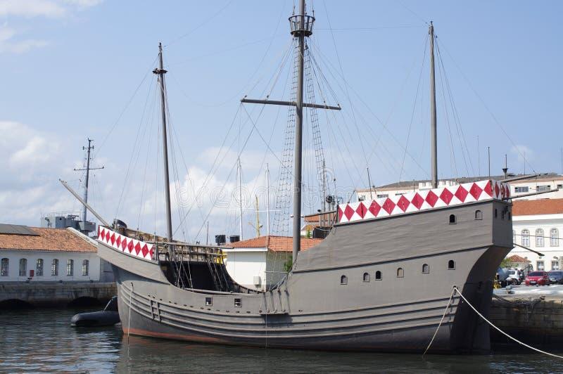 Pedro Cabral-schepen stock fotografie