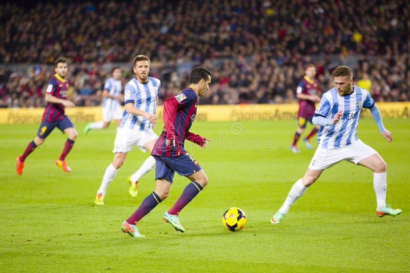 Pedro de FC Barcelona imagenes de archivo