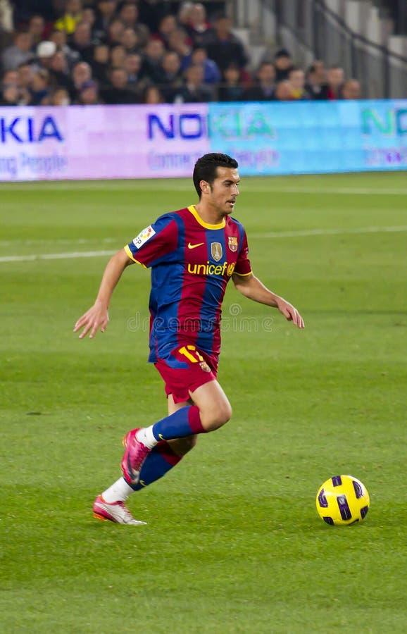Pedro (FC Barcelona) foto de archivo