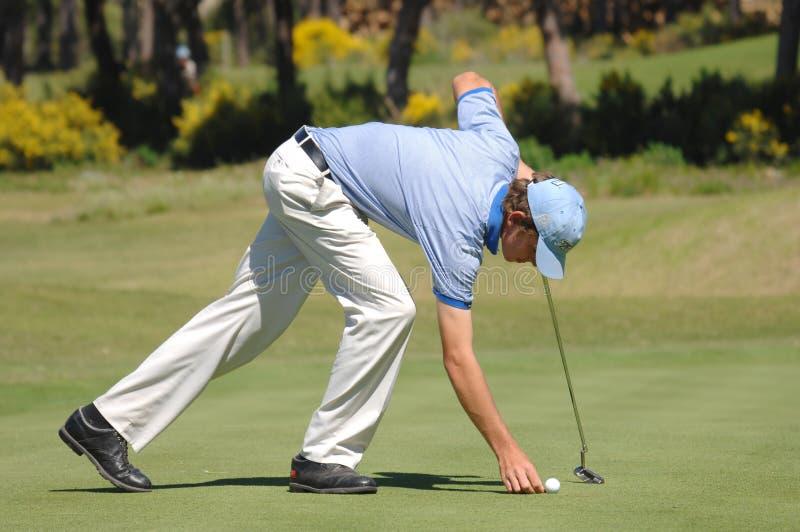 Pedro figueiredo golf por zdjęcia stock