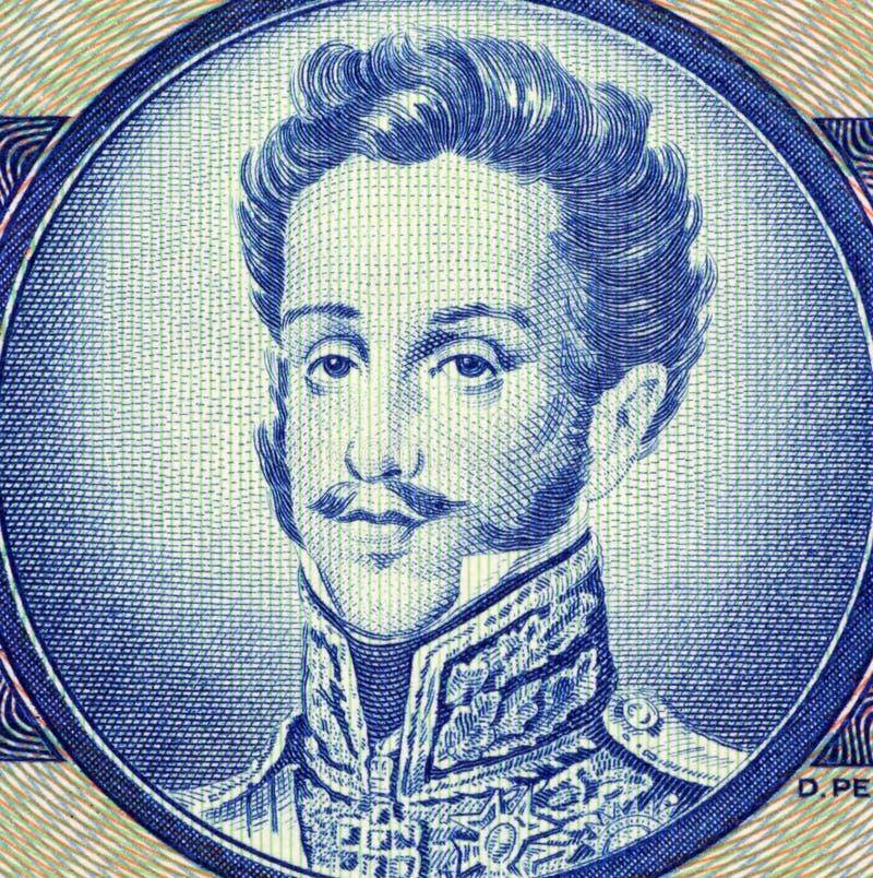 Pedro I royalty free stock image