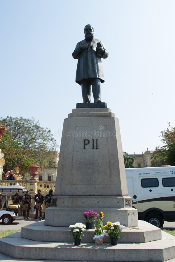 Pedro II bezdomny zdjęcie stock