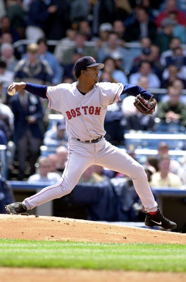 Pedro Martinez Boston Red Sox foto de archivo libre de regalías
