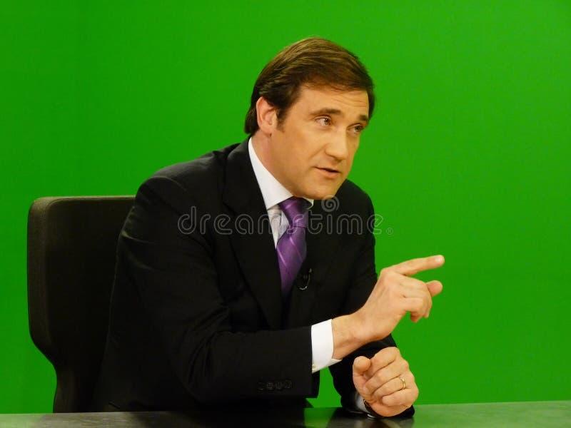 Pedro Passos Coelho imagem de stock royalty free