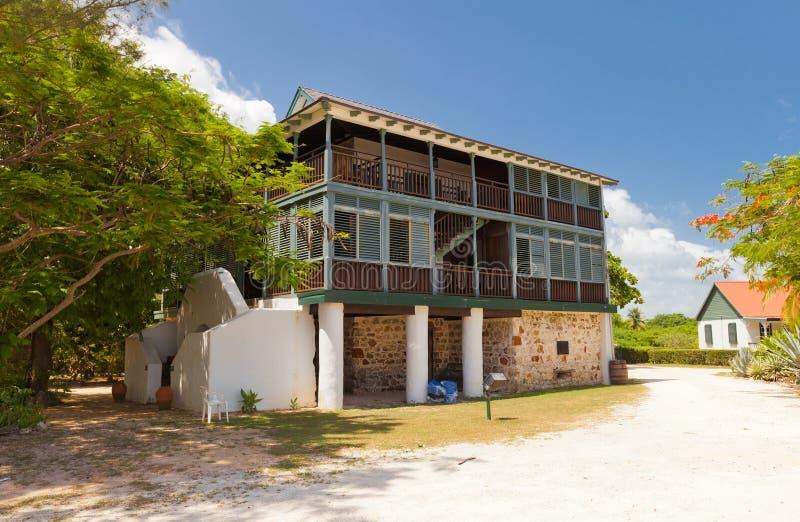 Pedro St James Castle (1780) op Grote Kaaiman, Caymaneilanden royalty-vrije stock afbeeldingen