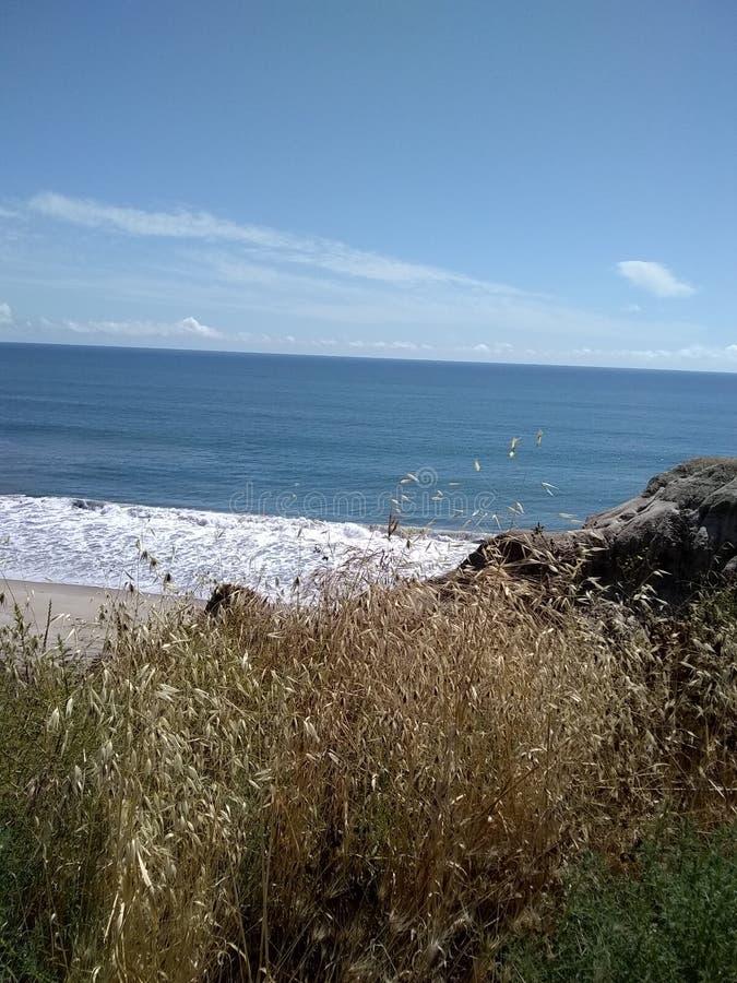 Peek of the beach. Bay, oceanside, ovean stock images