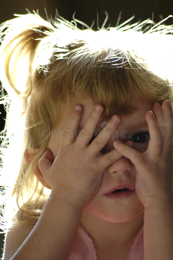 Download Peek A Boo Royalty Free Stock Photos - Image: 1549498