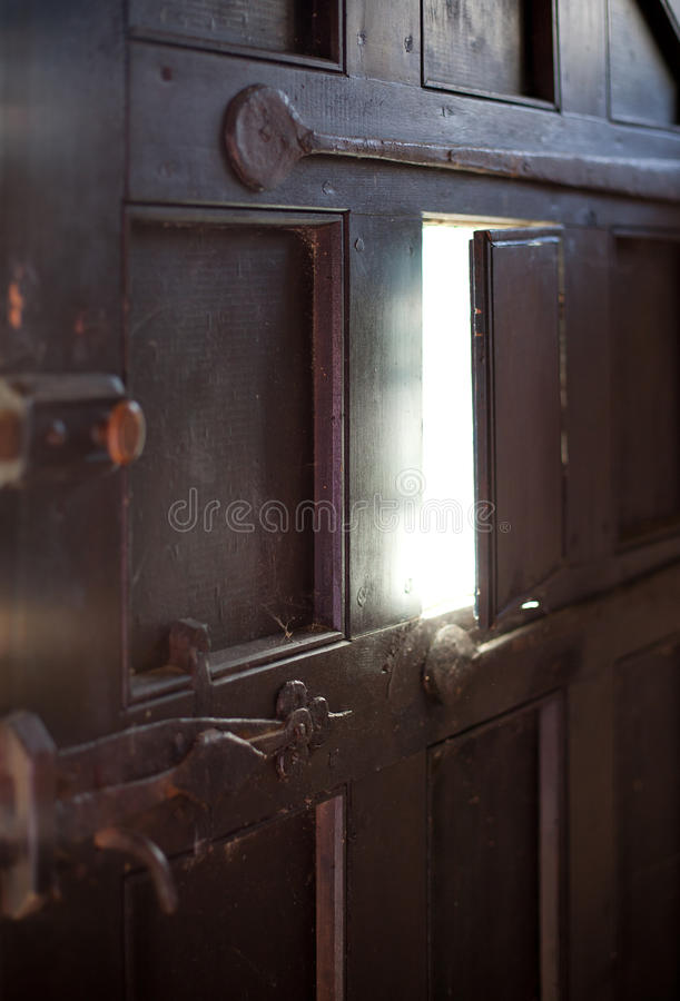 Download Peek-a-Boo Door stock photo. Image of peep, stain, cottage - 33291054