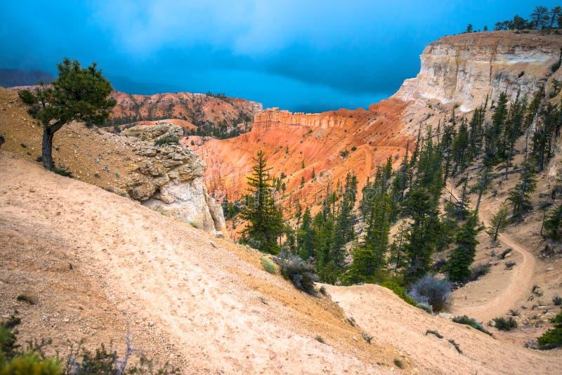 Peek-a-boo loop trail Bryce Canyon. National Park stock photo