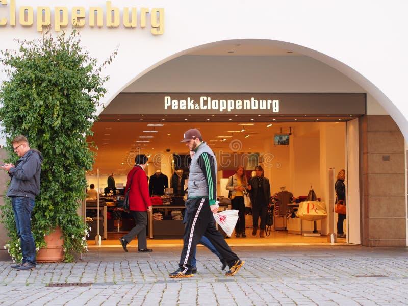 Peek&Cloppenburg стоковое изображение