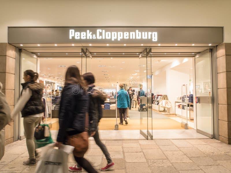 Peek&Cloppenburg стоковое фото rf