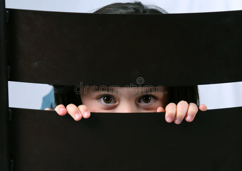 Download Peekaboo stock photo. Image of hair, child, fresh, healthy - 3910620