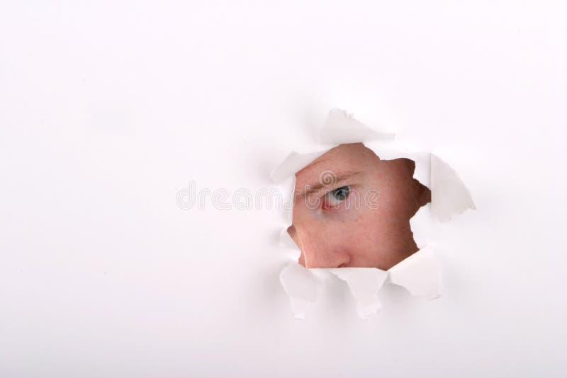 Peekaboo Imagen de archivo