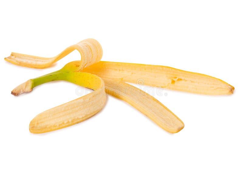 Peel av bananen arkivfoton
