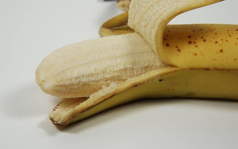 Peeled Banana royalty free stock images