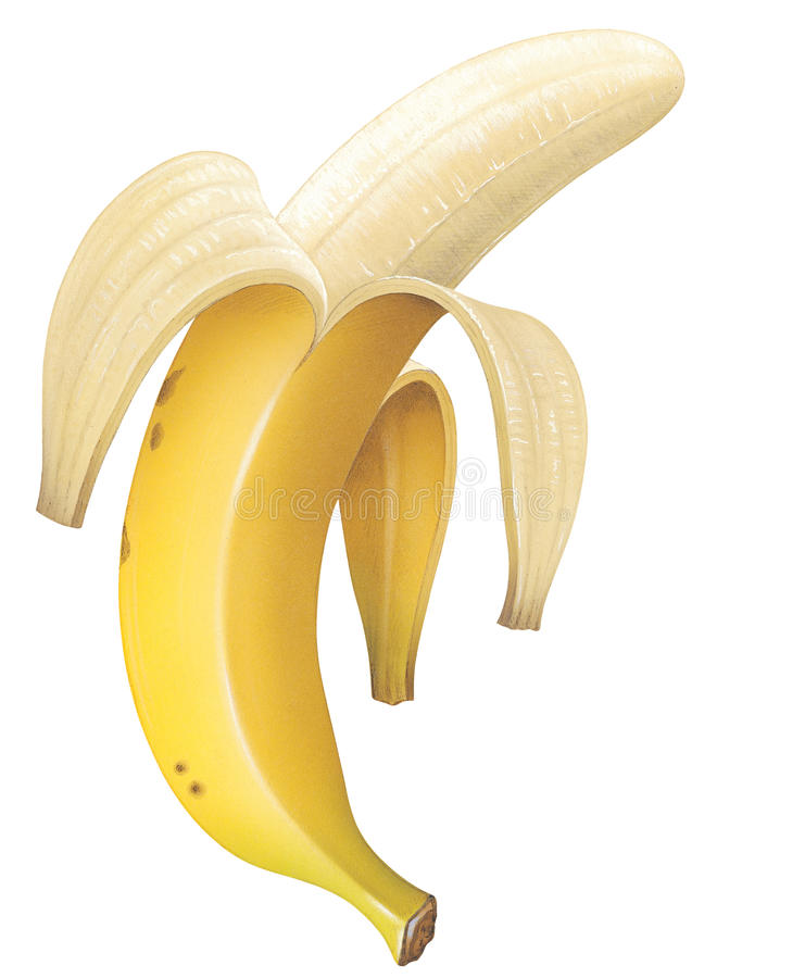 Free Peeled Banana Stock Photos - 17760793