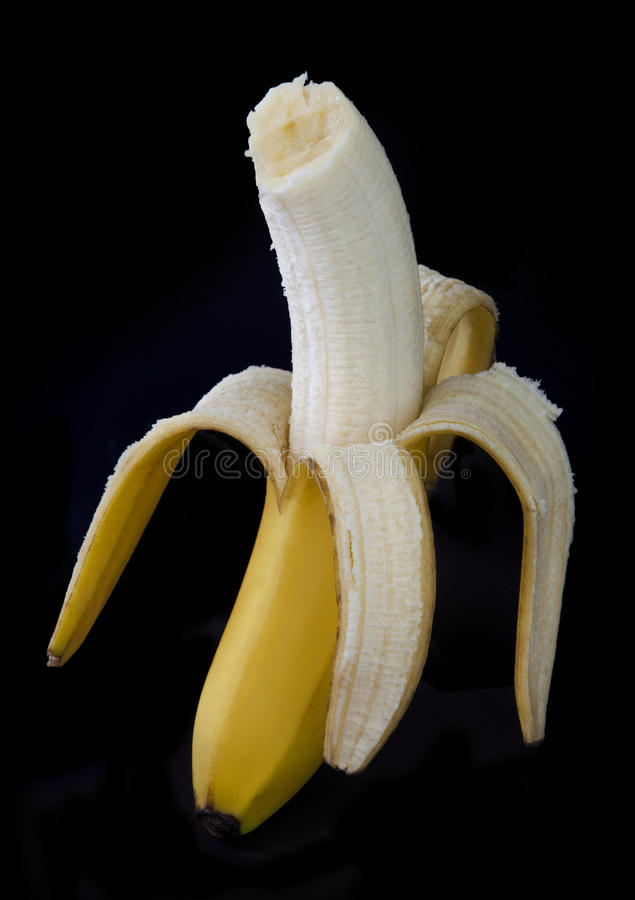 Download Peeled banana stock image. Image of healthy, skin, taste - 21236219