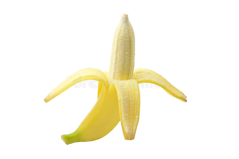Download Peeled Banana Stock Photo - Image: 25692110