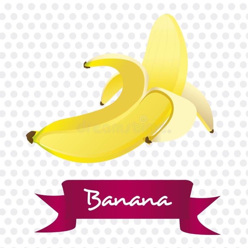 Peeled Banana  On White Royalty Free Stock Image