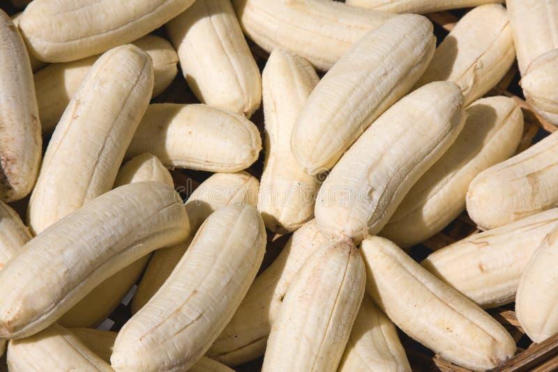 Peeled Bananas Royalty Free Stock Images