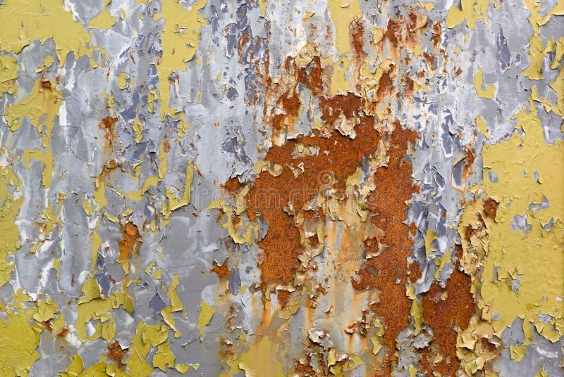 Peeled paint. royalty free stock photo