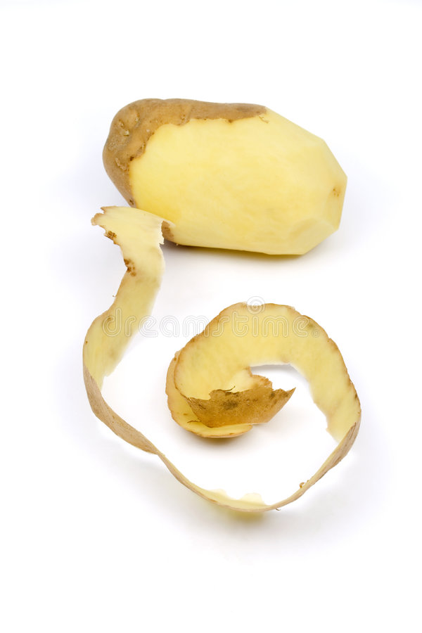 Download Peeled potato stock image. Image of ground, potato, peeling - 4359957