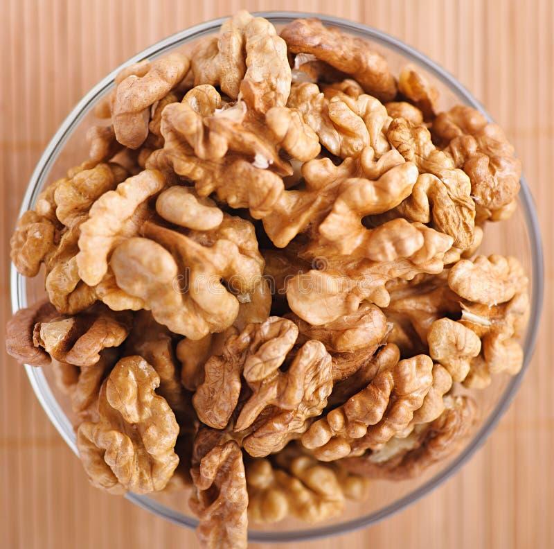 Peeled Walnuts Stock Images