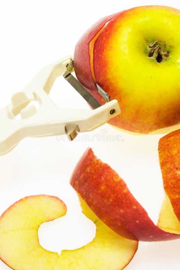 peeler яблока стоковые фото