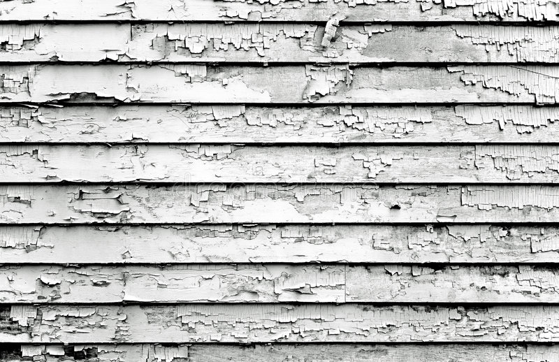 Download Peeling Paint Black & White Stock Image - Image: 3283797