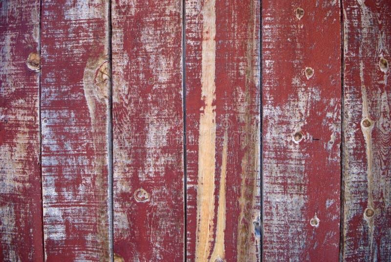 Peeling red paint - Wild West