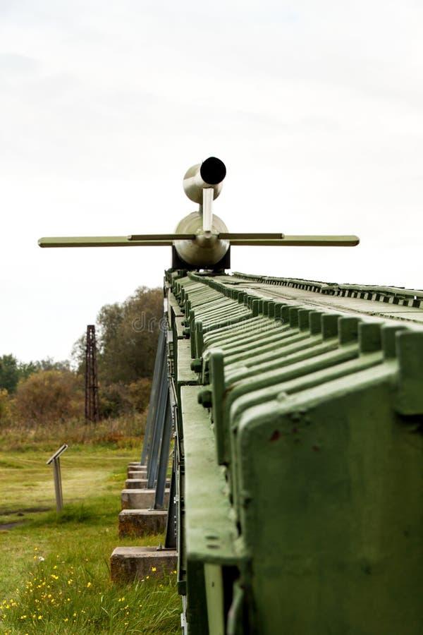 PEENEMUENDE NIEMCY, Wrzesień, - 21, 2017: Terytorium wojska Badawczy centrum WW-II rozwijać V-1 i V-2 rakiety Widok obrazy royalty free