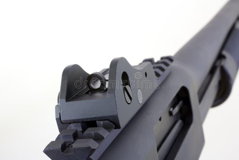 Download Peep sight stock photo. Image of white, black, muzzle - 21486508