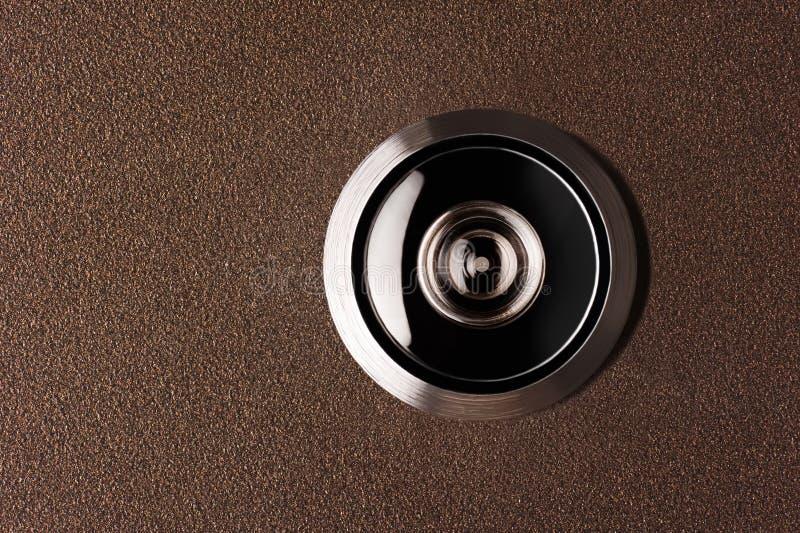 Peephole imagem de stock