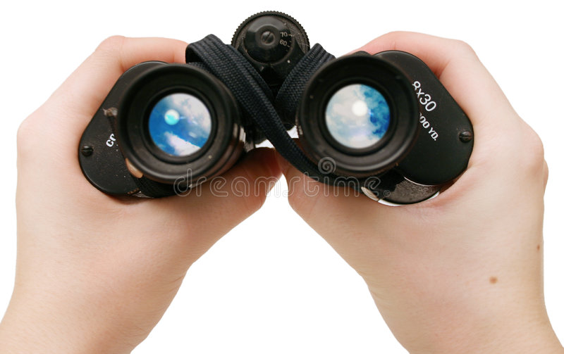 Peeping tom ... royalty free stock photos
