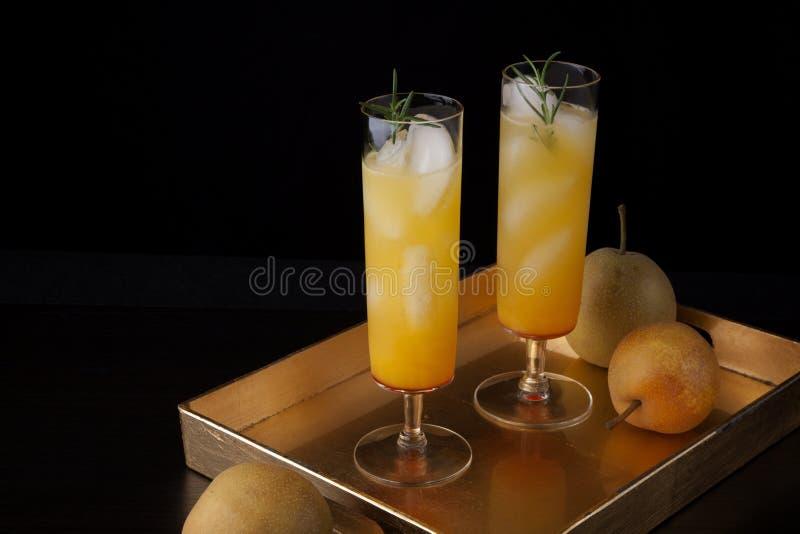 Peersparkler - Drinken stock afbeelding