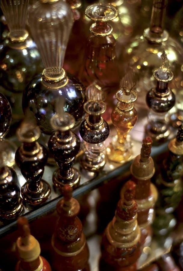 Pefume Flaschen Tunesien lizenzfreie stockfotos