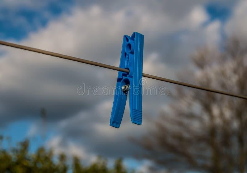 peg, niebieski obrazy stock