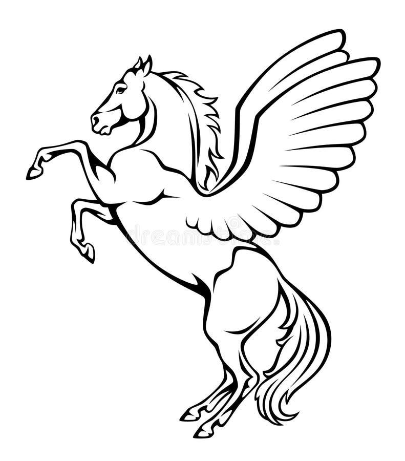 Pegasus stock abbildung