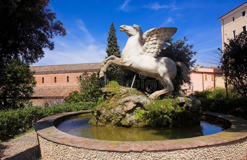 Pegasus 2 lizenzfreie stockbilder