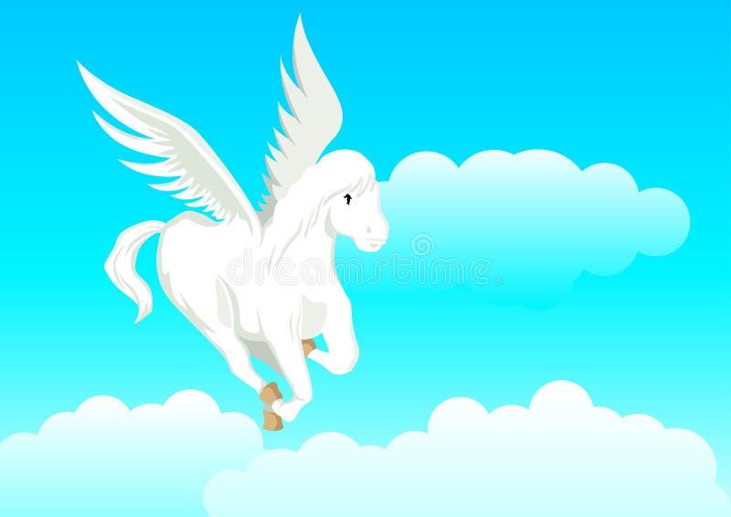 Download Pegasus stock vector. Illustration of beautiful, mare - 25252077