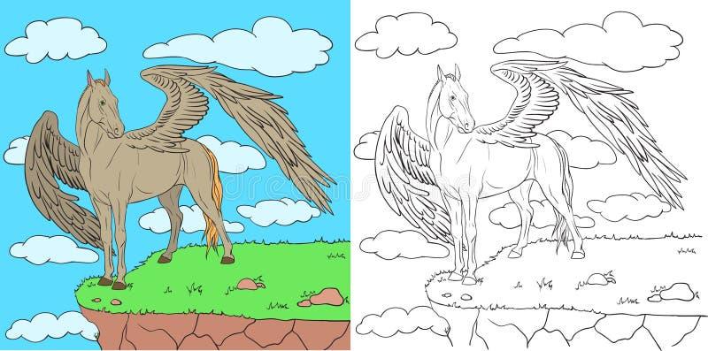 pegasus vector illustratie