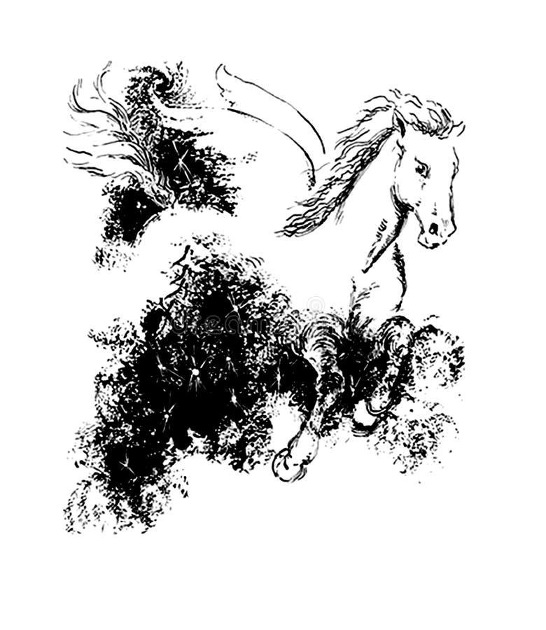 pegasus ilustracji