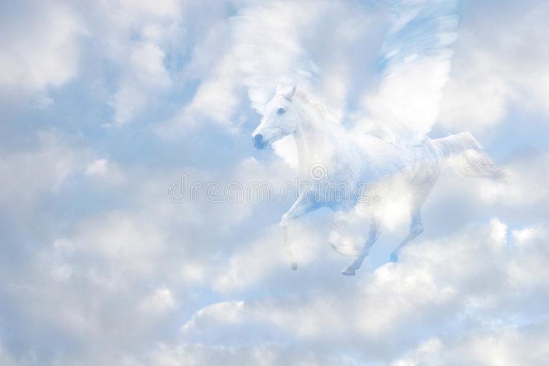 Pegasus imagenes de archivo