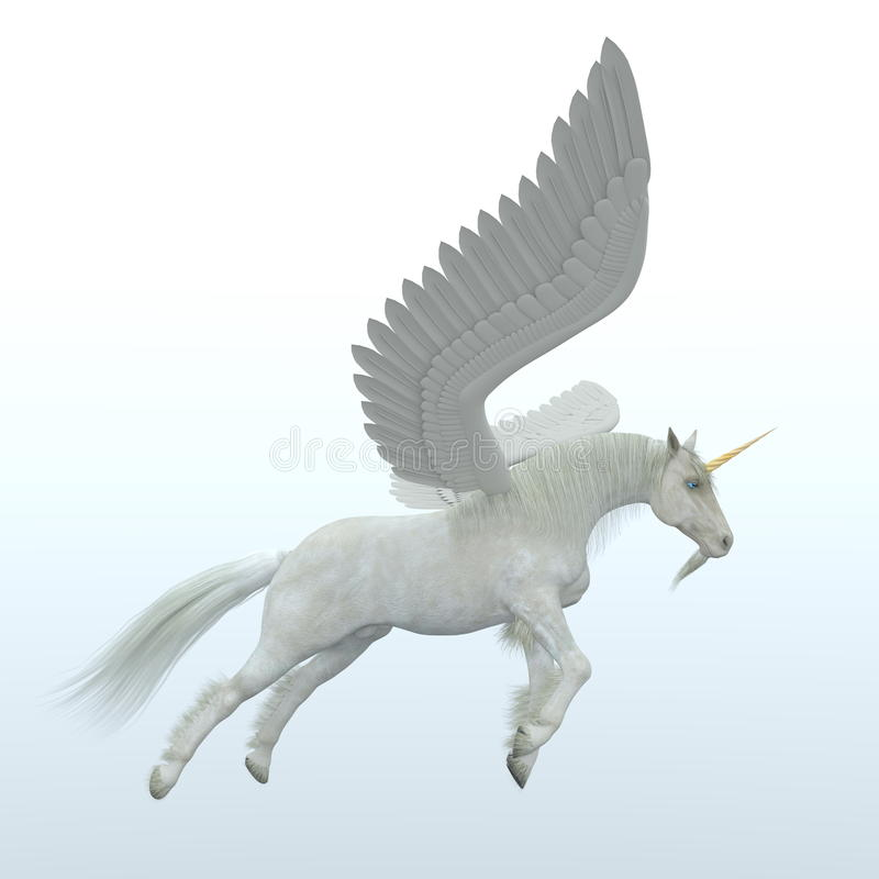 pegasus illustration stock