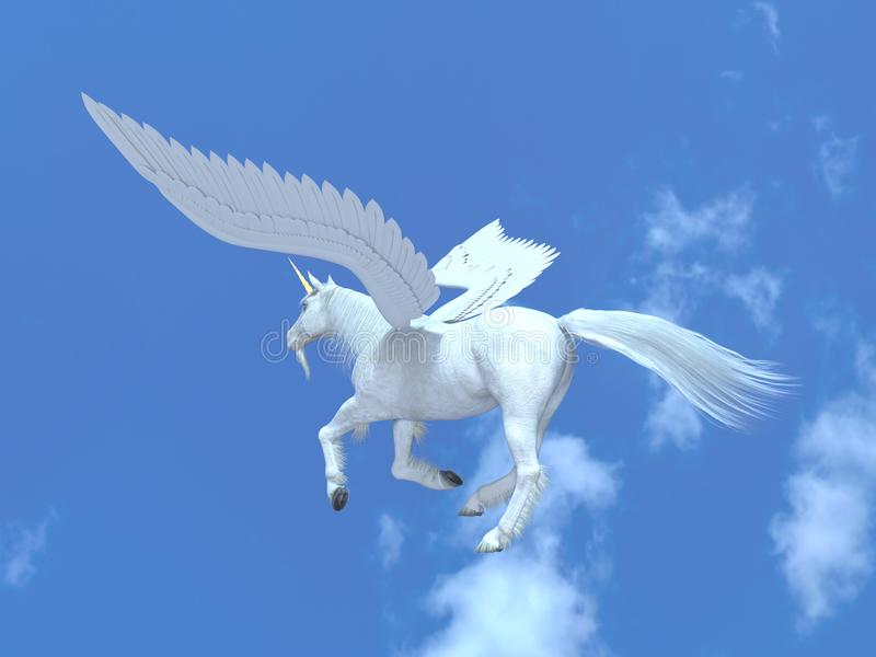 pegasus illustration libre de droits